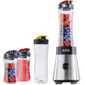 AEG Standmixer Smoothie Mini Mixer mit Power-Motor & extra Tritanflasche - platz 4